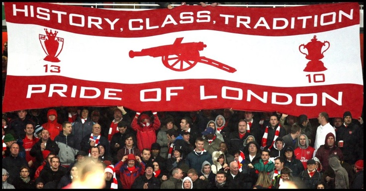 Arsenal a team of class and tradition