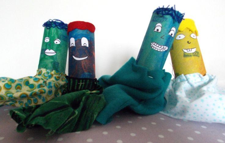 Des marionnettes récup' DIY