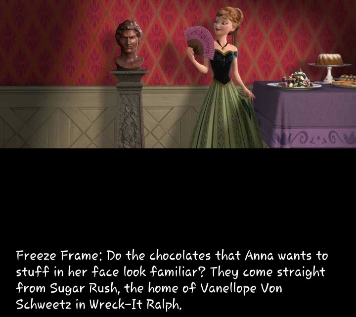Another frozen easter egg for Easter egg fun facts