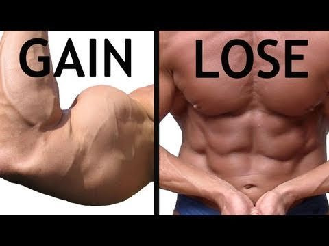 Gaining muscle while losing fat: exactly how much you should be eating!