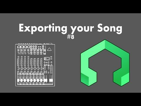 LMMS Tutorial 8: Exporting your song - YouTube