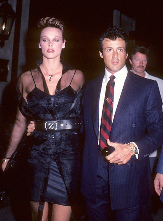 Brigitte Nielsen Sylvester Stallone S Ex Wife Still Built For The