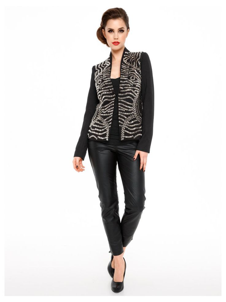 15 pingles blazer paillettes incontournables veste. Black Bedroom Furniture Sets. Home Design Ideas