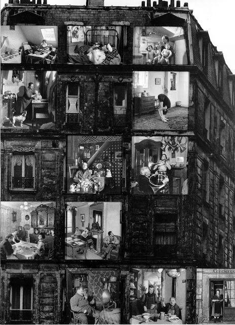 """© Foto de Robert Doisneau. """"Les Locataires"""", 1962."""