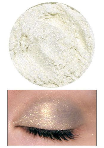 Lime Crime Eyedust in Nymph.
