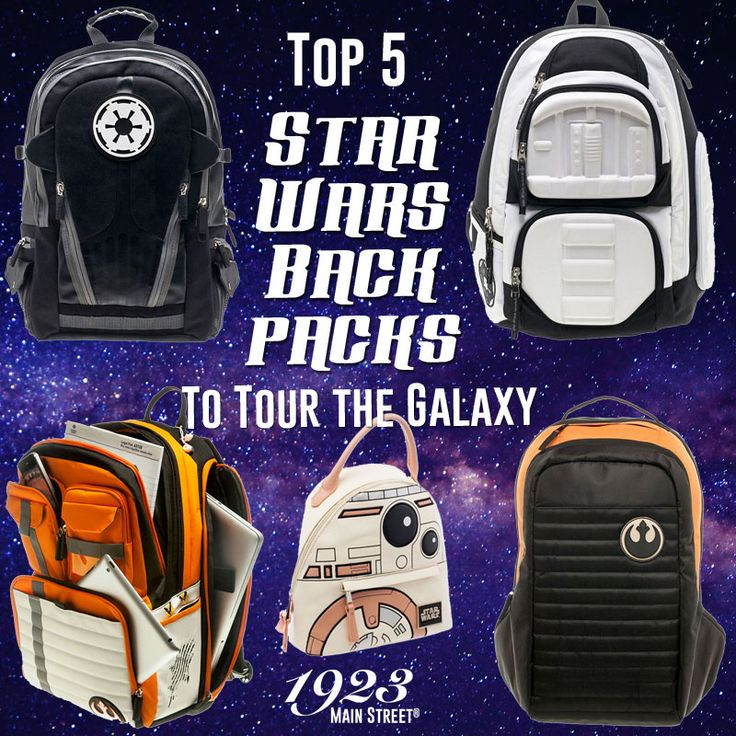 Top 5 Star Wars Backpacks #Canada https://1923mainstreet.com/blogs/news/top-5-star-wars-backpacks-to-tour-the-galaxy