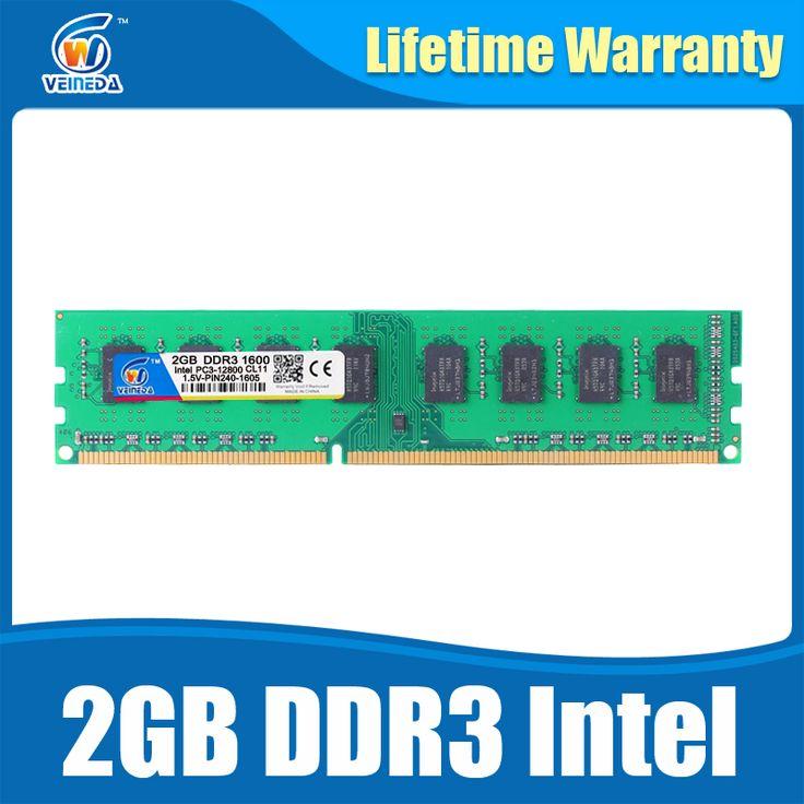 DDR3 2GB 1333Mhz memory ram ddr 3 1333 pc3-10600 dimm ram for all AMD and Intel desktop warranty life #Affiliate