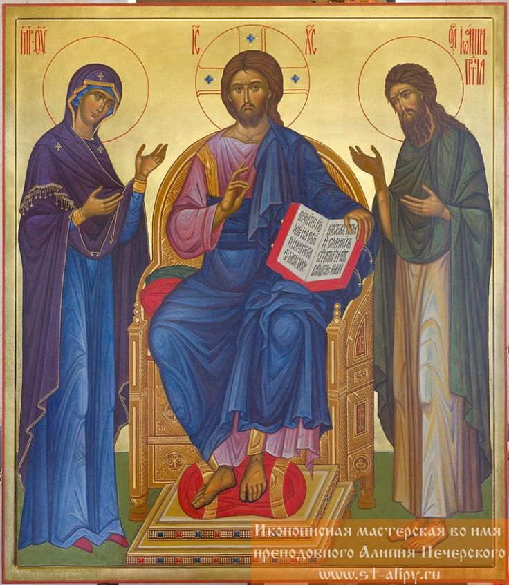 Деисус. Богоявленский Старо-Голутвин мужской монастырь