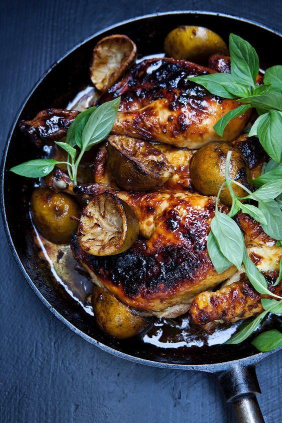 Plattes Huhn