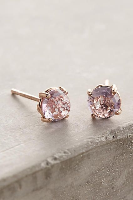14k Gold Round Stud Earrings - anthropologie.com