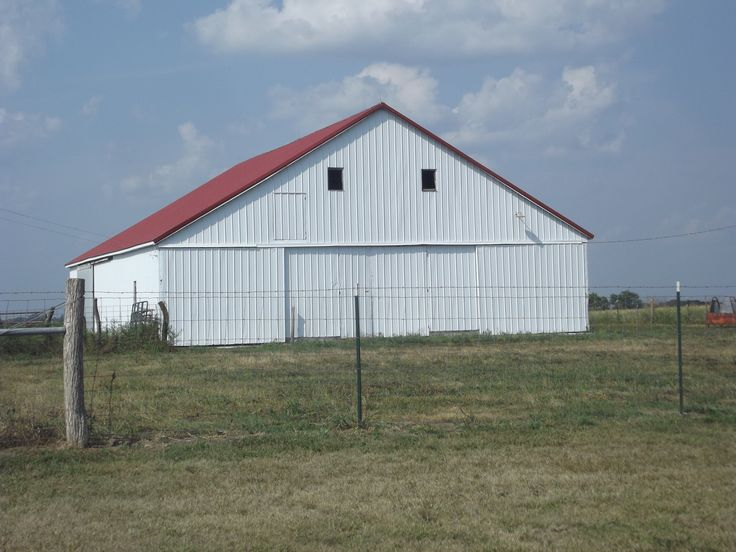 Barn - red roof