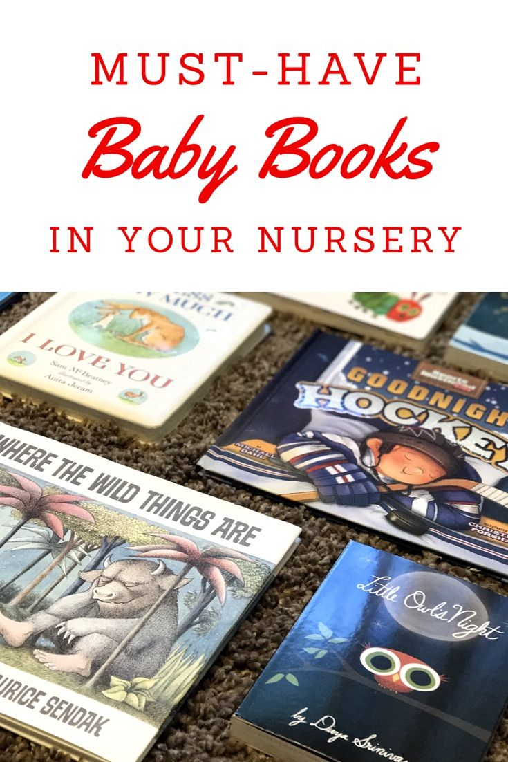 Looking for children's books? Check out these ten must-have baby books in your nursery!! |nursery | nursery books | baby books | children's books| pregnancy | must-have books | hockey books | baby hockey books | baby shower books |