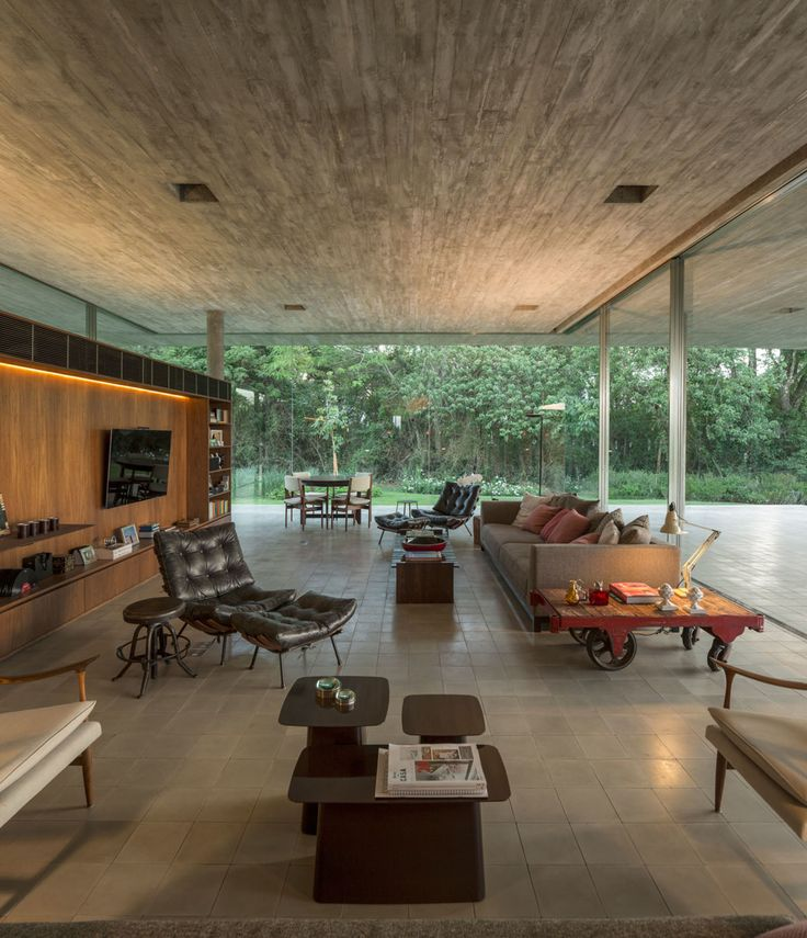 Located In The Capalbio Countryside Which Is In The: Redux House Is Located In The Countryside Of São Paulo