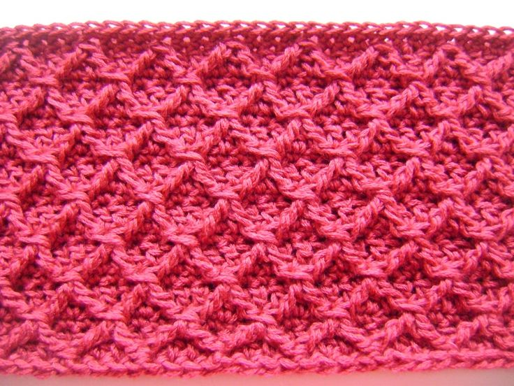 Diamond Afghan Knitting Pattern : diamond crochet cowl ~ but this pattern would be great for an afghan too! C...