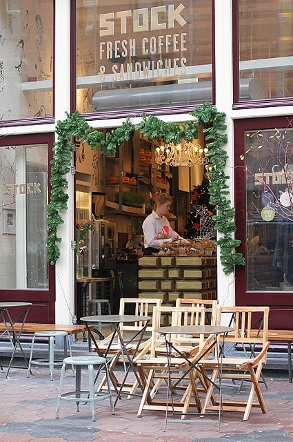 Stock Coffee in Amsterdam