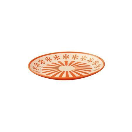 """Alternativa Тарелка """"Валенсия"""", Alternativa, оранжевый-белый  — 52р.  Характеристики:  • Предназначение: для пищевых продуктов • Материал: пластик • Цвет: оранжевый, белый • Размер (Д*Ш*В):  19*19*20 см • Особенности ухода: разрешается мыть  Тарелка """"Валенсия"""", Alternativa, оранжевый-белый изготовлена отечественным производителем ООО ЗПИ Альтернатива, который специализируется на выпуске широкого спектра изделий и предметов мебели из пластика. Тарелка выполнена из экологически безопасного…"""
