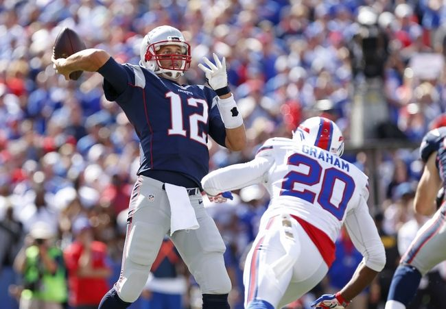 New England Patriots vs. Buffalo Bills - 11/23/15 NFL Pick, Odds, and Prediction