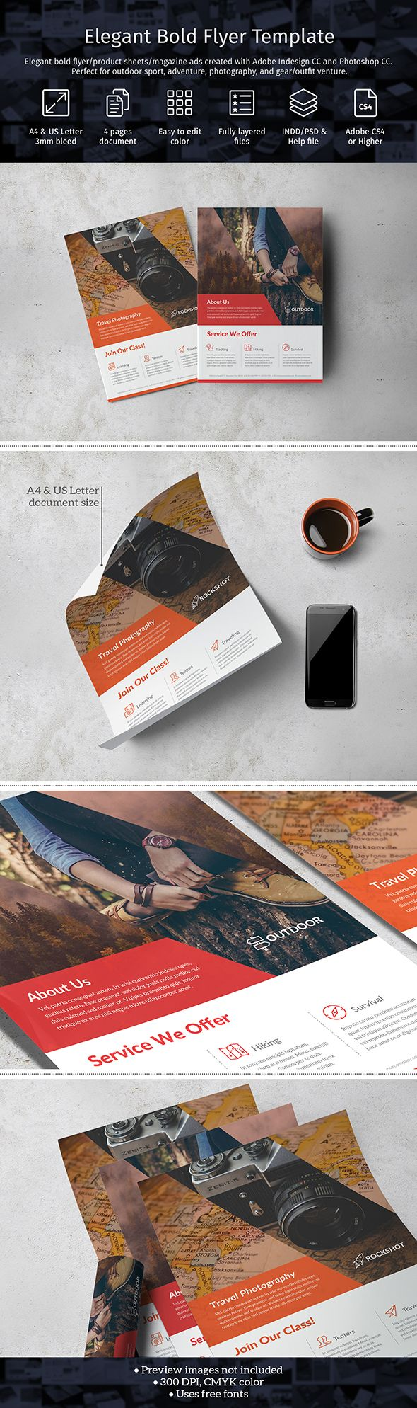 Best seller item, now available in PSD format. Easy to edit color through Color Picker layer. Vector Smart Object. Compatible with Adobe Photoshop CS4 or higher. Get it now --> https://crmrkt.com/JWgR4