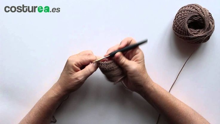 Disminuir puntos en ganchillo