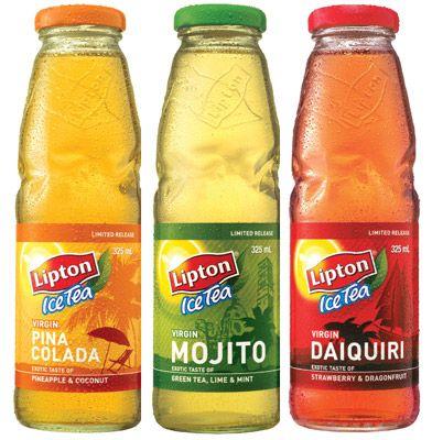 lipton tea | Lipton Ice Tea Virgin Cocktails