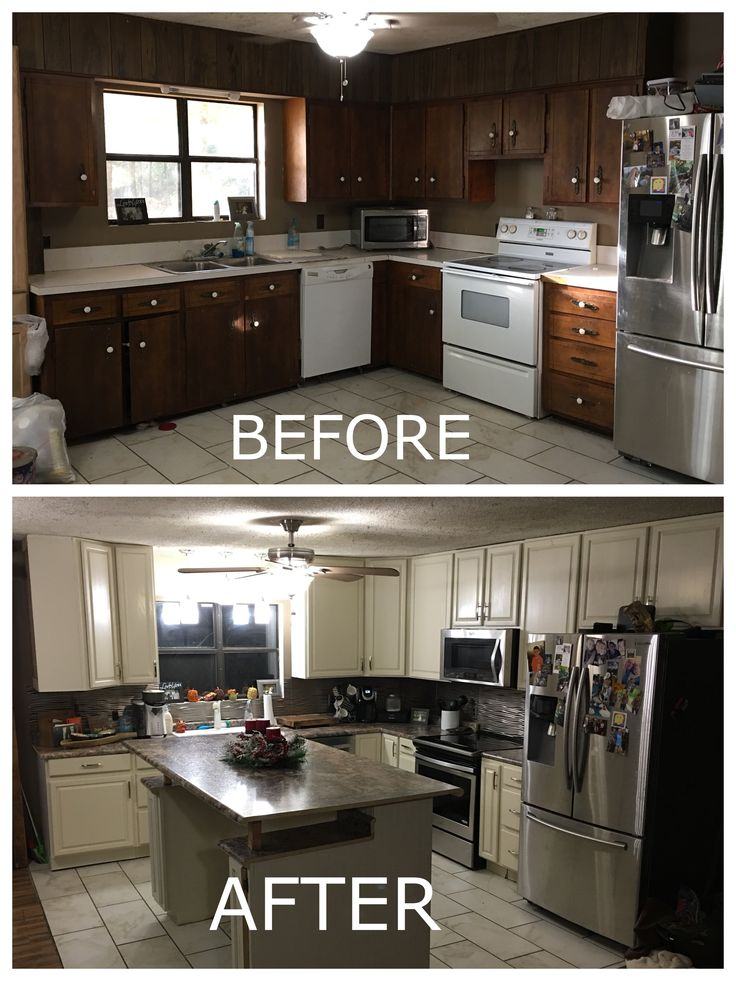 Totally loving my new kitchen! Remodeling for a small kitchen!