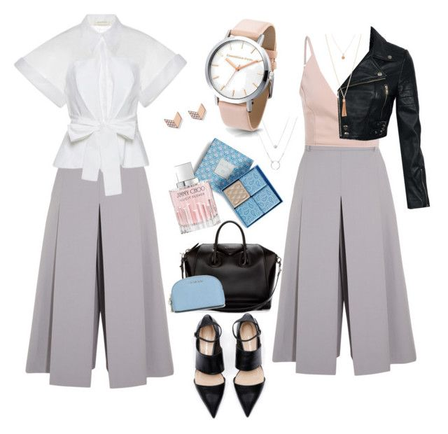 """Городской шик"" by solostylist on Polyvore featuring мода, Vilshenko, Delpozo, Givenchy, Vera Bradley, MICHAEL Michael Kors, Jimmy Choo и FOSSIL"