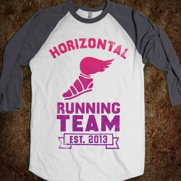 Totally getting this for my niece for her birthday!!! she will love this!! Horizontal Running Team (Baseball Shirt) YESSSSSS