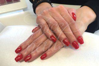Kurze abgerundete Ecken Nägel – Naildesign   Nailart by My Nice Nails GmbH – What do you think? For more info visit us at mynicenails.ch #MyNiceNails #nails #naildesign #nailart #nailstudio