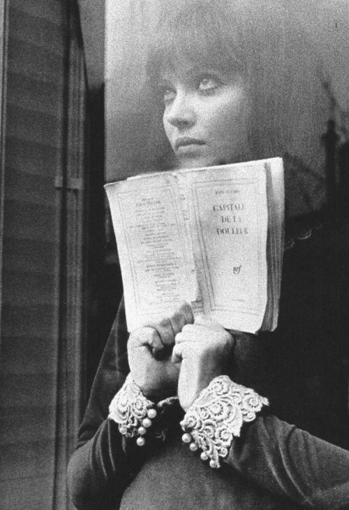 Anna KarinaAnna Karenina, Anna Karina, Fashion Vintage, Jeanluc Godard, Annakarina, Alphavil 1965, La Douleur, Music Book, Landscapes Photography