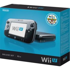 Nintendo Wii U Console Deluxe Set with Mario Land