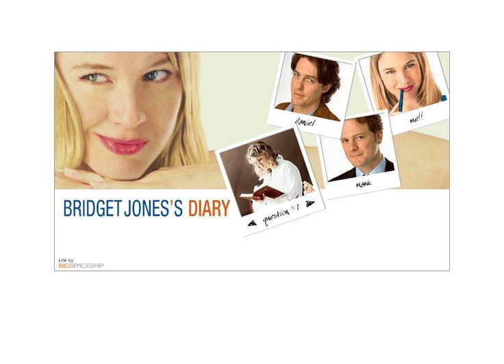 Bridget Jones's Diary website in 2001