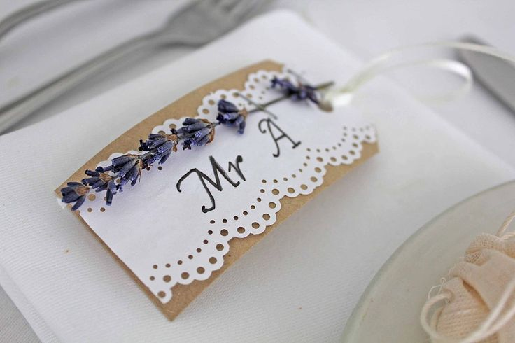 Lavendar and lace name place. Cotton and Beau.
