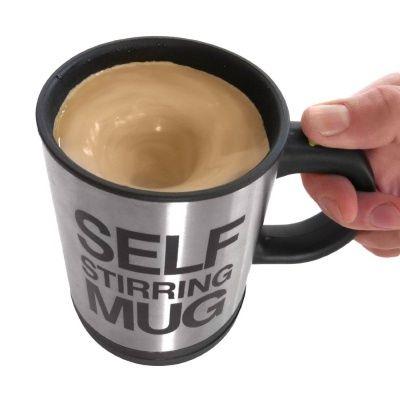 Lenivý hrnček: Tento hrnček sviečkomje pre lenivých ľudí, ktorí sú až tak pohodlní, že sa im nechce ani miešať káva. Nalejte kávu alebo čaj, stlačte tlačidlo a nápoj sa Vám sám zamieša. Nie je nič jednoduchšie. Ak poznáte niekoho, kto je fakt dosť…