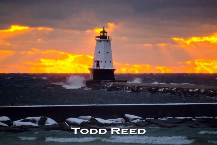 Todd reed ludington lighthouse favorite places spaces for Todd reed