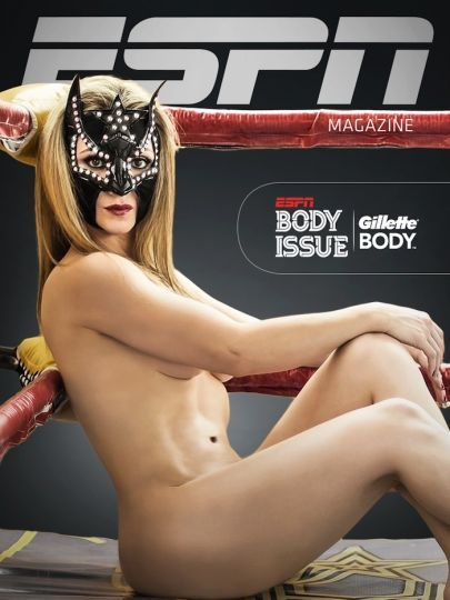 Sexy star espn body issue magazine shooting