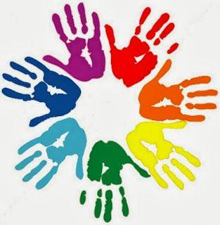 es una imagen colorida y llena de solidaridad