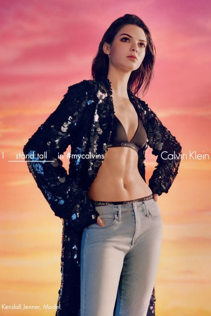 Kendall Jenner Joins Calvin Klein's Sexy Spring Campaign -- See the Stripped-Down Pics!