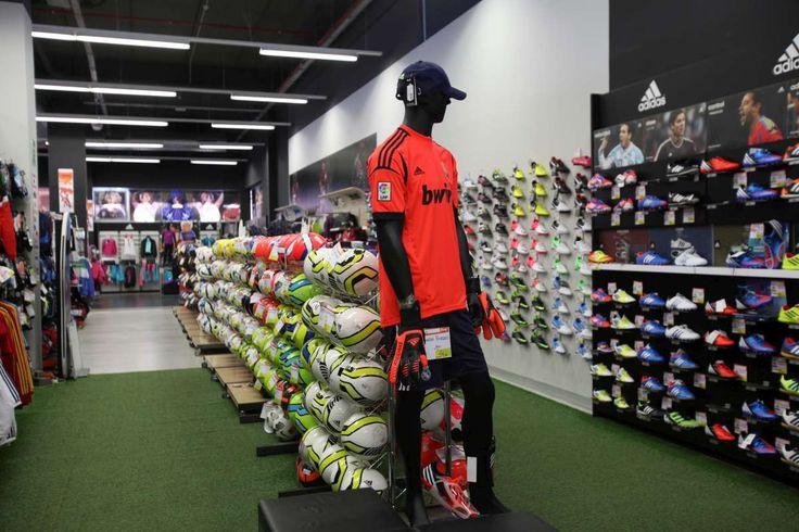 Montar tienda deportiva