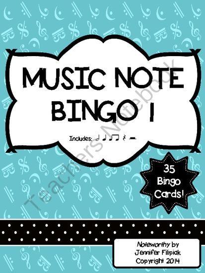 Music Bingo 1: Ti-Ti, ...