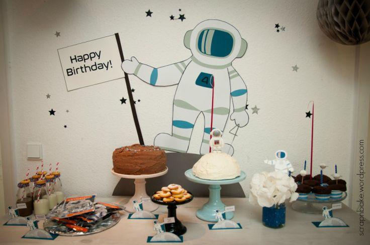 Astronauten Party - Astronaut Party - Kindergeburtstag - Sweet Table