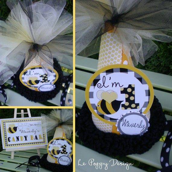 Bumble Honey Bee Birthday Party Decorations By PartyOnPurposeShop 18250