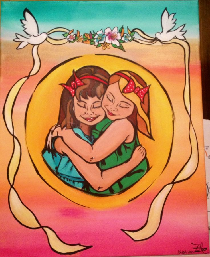 Friendship painting