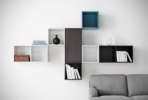VALJE veggskap er nesten som en settekasse men i større format. Perfekt til…