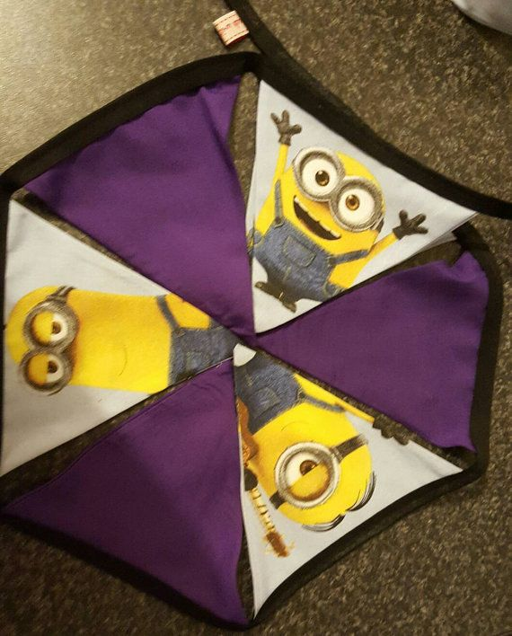 Check out this item in my Etsy shop https://www.etsy.com/uk/listing/492146584/minion-children-bunting