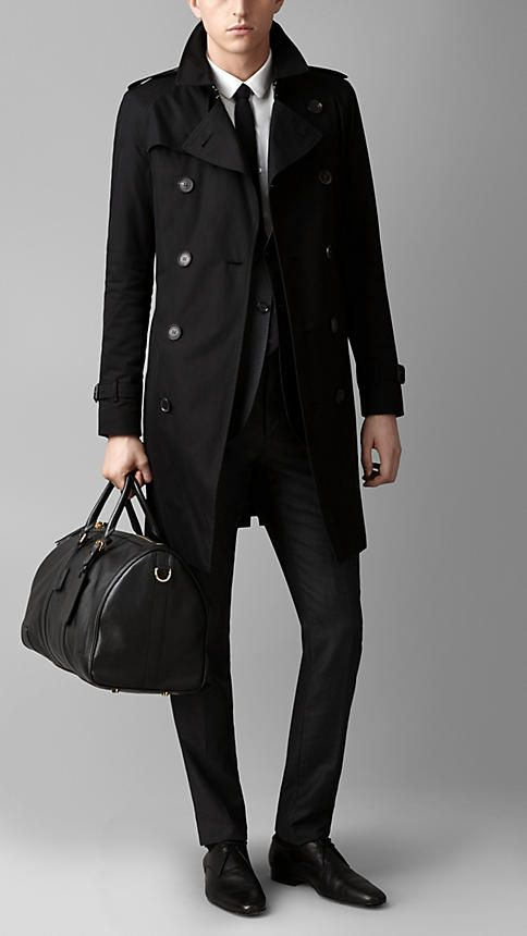 Black The Large Alchester in Sartorial Leather - Image 2