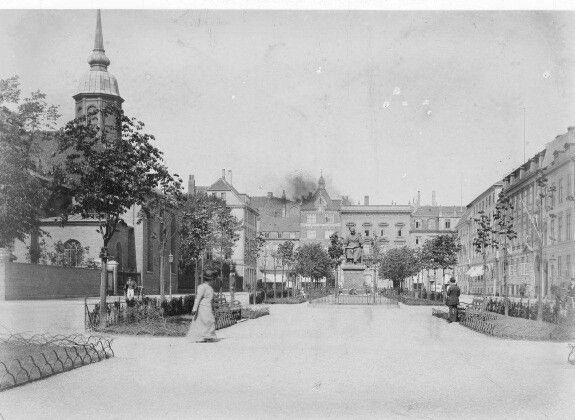 Sankt Annæ Plads 1904-1910. Foto Fritz Benzen.