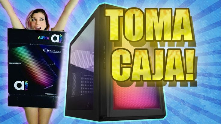 UNBOXING DE RISA | ALPHA CHASSIS TORRE GAMER PC