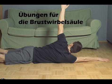 übungen für die brustwirbelsäule | bernd marl | training mit verstand