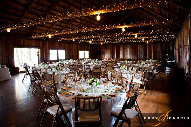 Wedding In Rustic Wood Cabin At Kitsap Memorial By Seattle