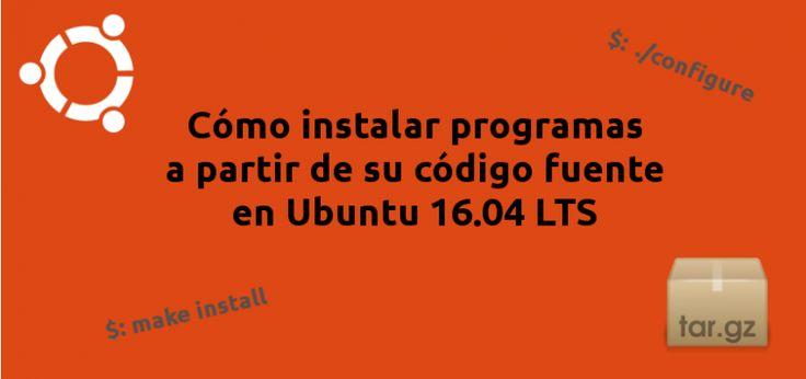 Instalar programas tar gaz en ubuntu